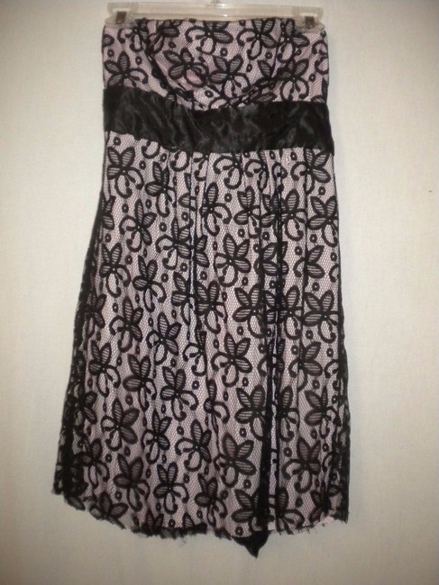 Johnny Martin Party Strapless Lace Littleblackdresss Dress Image 1