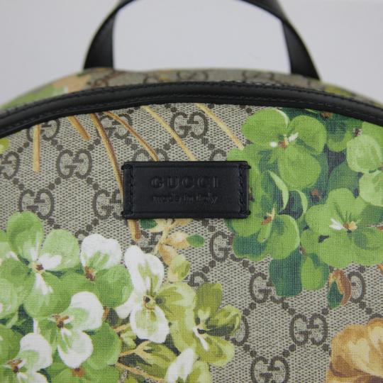 Gucci Beige/Brown Gg Coated Canvas 406370 8966 Backpack Image 1