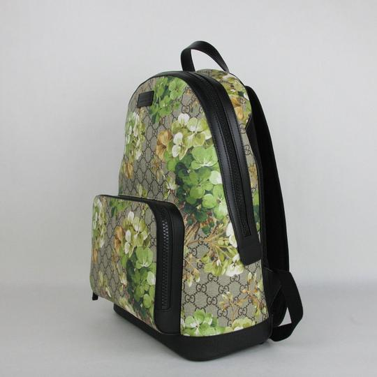 Gucci Beige/Brown Gg Coated Canvas 406370 8966 Backpack Image 2