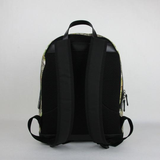 Gucci Beige/Brown Gg Coated Canvas 406370 8966 Backpack Image 3