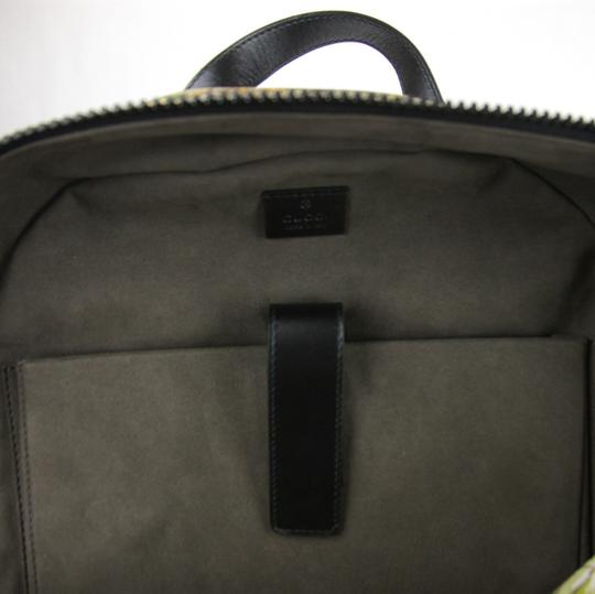 Gucci Beige/Brown Gg Coated Canvas 406370 8966 Backpack Image 7