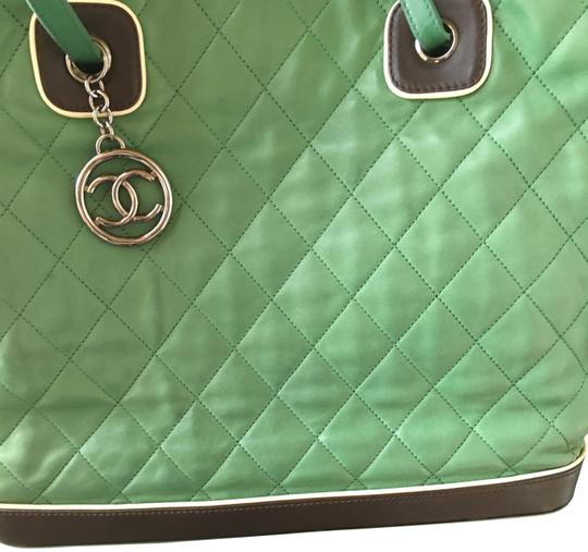 Chanel Tote in quilted Jumbo Image 1