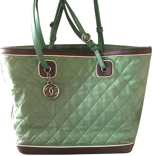 Chanel Tote in quilted Jumbo Image 2