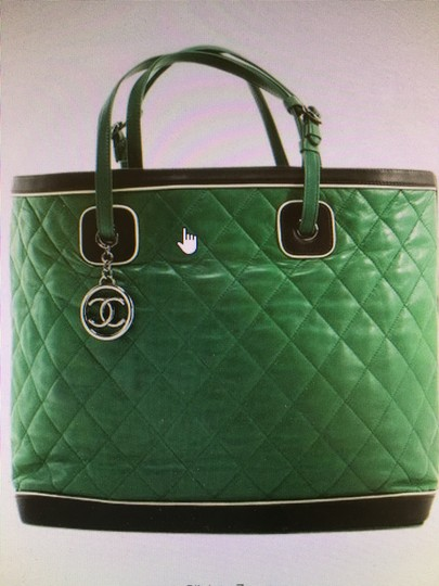 Chanel Tote in quilted Jumbo Image 4