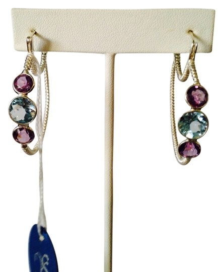 JS Collections NWT Faceted Amethyst &