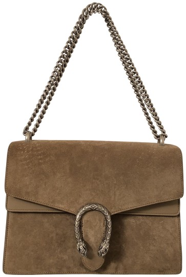 38a51a4b9 Gucci Dionysus Medium Nude Brown Suede Leather Shoulder Bag - Tradesy