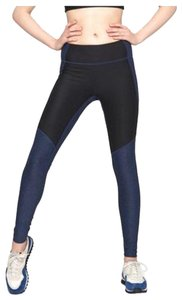 Outdoor Voices Navy and charcoal Leggings
