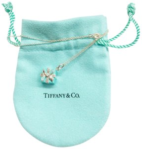 Tiffany & Co. Tiffany & Co. Blue Box Charm Necklace