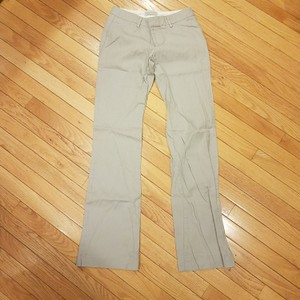 Gap Trouser Pants Light grey, Long length