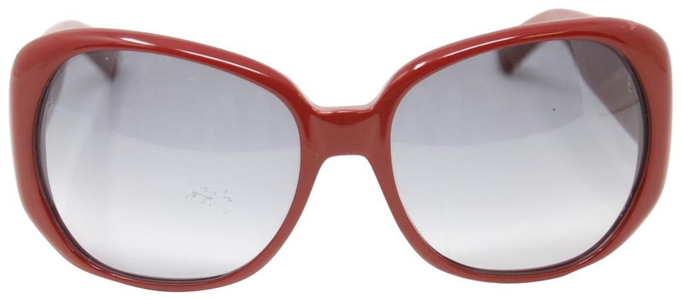 edd051d8fbb Saint Laurent Red Signature Jewel Ysl 6189/S Ekilf Butterfly Grey Gradient  Sunglasses