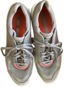 adidas By Stella McCartney Sneakers Designer Workout Gray and coral Athletic