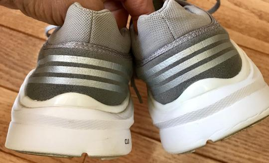 adidas By Stella McCartney Sneakers Designer Workout Gray and coral Athletic Image 3