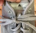 adidas By Stella McCartney Sneakers Designer Workout Gray and coral Athletic Image 6