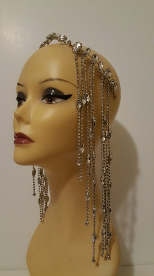 Other Glam head chain tiara bridal Image 1