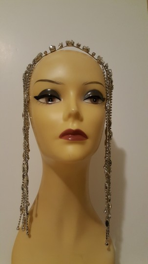 Other Glam head chain tiara bridal Image 2