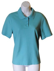 Croft & Barrow Style Size L Great Condition Top Turquoise