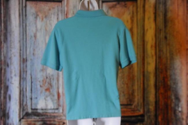 Croft & Barrow Style Size L Great Condition Top Turquoise Image 3
