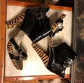 Naughty Monkey Black/Brown Boots Image 11