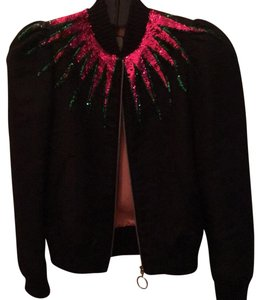Gucci Black with multicolored sequins Jacket