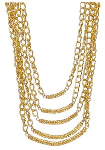 Other Gold Tone Multi Strand Necklace