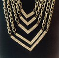 Other Gold Tone Multi Strand Necklace Image 2