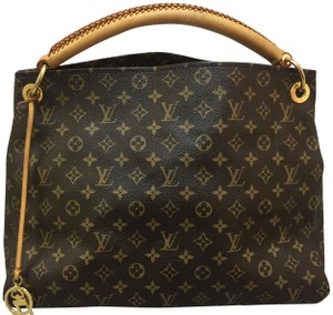 Louis Vuitton Lv Mini Artsy Mm Canvas Hobo Bag