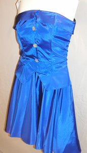 Just Female Party Dance Strapless Vintage Sassy Dress