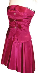 Just Female Sassy Party Strapless Dancing Dress