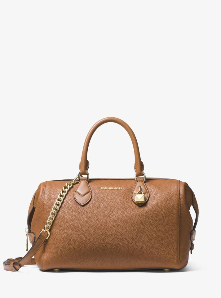 40b8a7f862d3 Michael Kors Grayson Acorn Leather Satchel - Tradesy