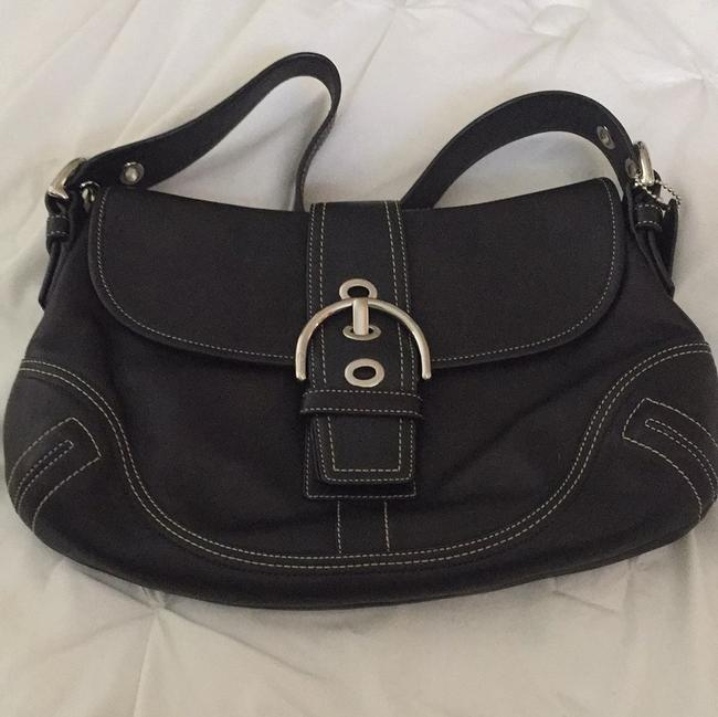 Coach Never Used Black Leather Hobo Bag Coach Never Used Black Leather Hobo Bag Image 1