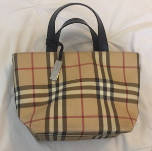 Burberry Satchel in Burberry Plaid