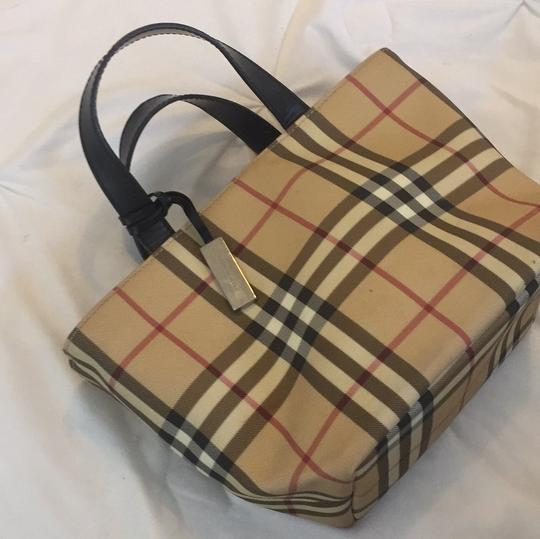 Burberry Satchel in Burberry Plaid Image 1