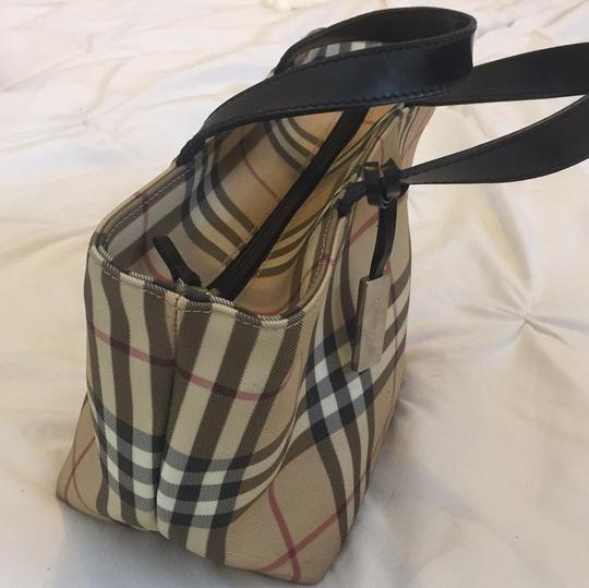 Burberry Satchel in Burberry Plaid Image 2