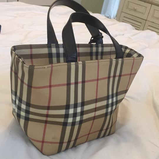 Burberry Satchel in Burberry Plaid Image 3