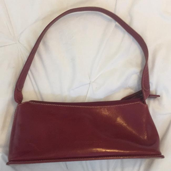 Kenneth Cole Red Leather Satchel Kenneth Cole Red Leather Satchel Image 1