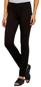 Eileen Fisher 1x Straight Pants BLACK