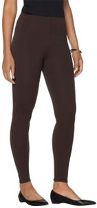 Lyssé Straight Pants Heather BROWN