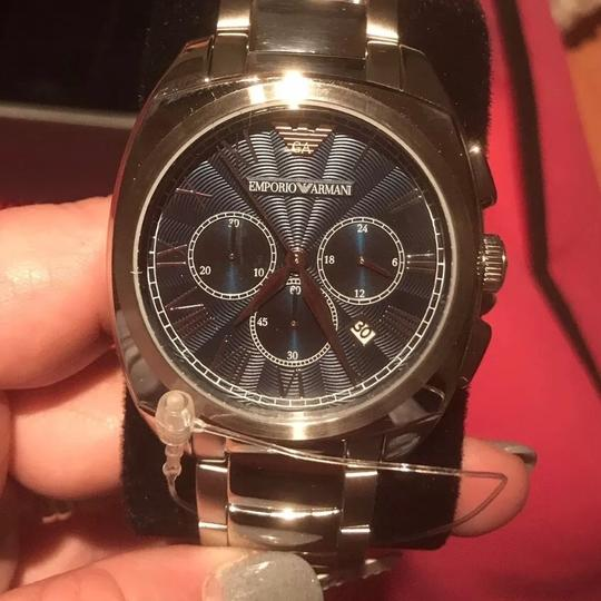 Preload https://img-static.tradesy.com/item/22812480/emporio-armani-silver-new-ar6128-stainless-classic-rose-gold-detail-anolog-watch-0-0-540-540.jpg