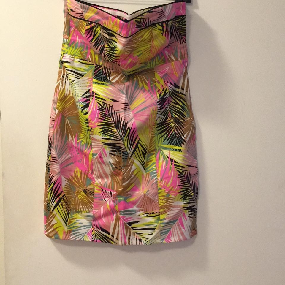 8e9853a010b H M Multi-color Tube Short Casual Dress Size 10 (M) - Tradesy