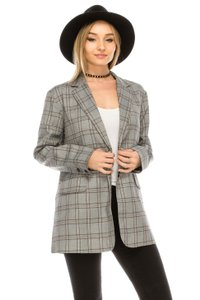 re:named Palid Vintage plaid multi Blazer