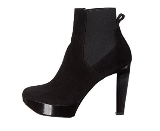 Robert Clergerie Ankle Black Suede Boots Image 2