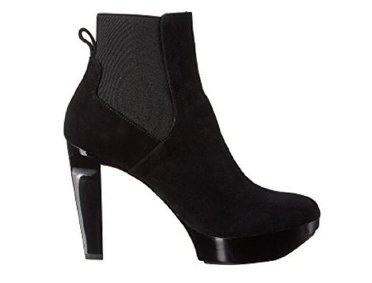 Robert Clergerie Ankle Black Suede Boots Image 4