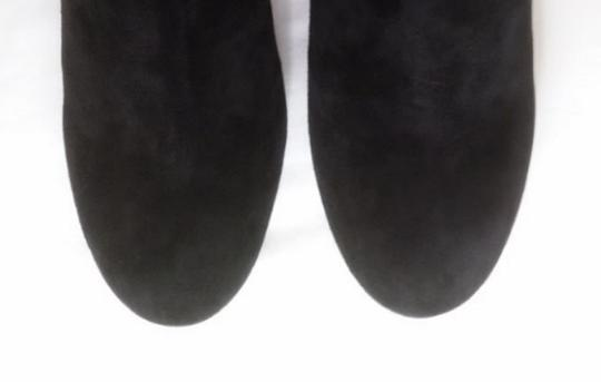 Robert Clergerie Ankle Black Suede Boots Image 5