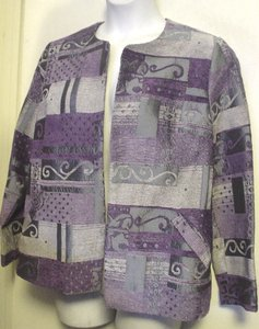Anthony Richards Tapestry Unlined Jacket Career Style Cardigan