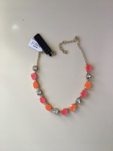 J.Crew New with Tag Signed J. Crew Necklace + Pouch