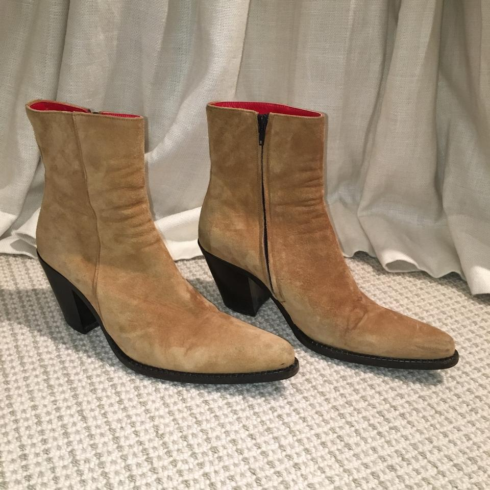 Free Lance Tan Made In Boots/Booties Paris France / 39517 Boots/Booties In 95efbc