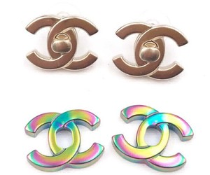 Chanel Chanel NWT Rare Classic Turnlock Exchangeable Piercing Earrings