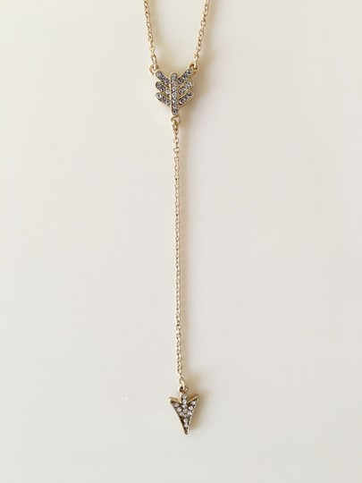 J.Crew New without tag J. Crew Pave Arrowhead Necklace Image 1