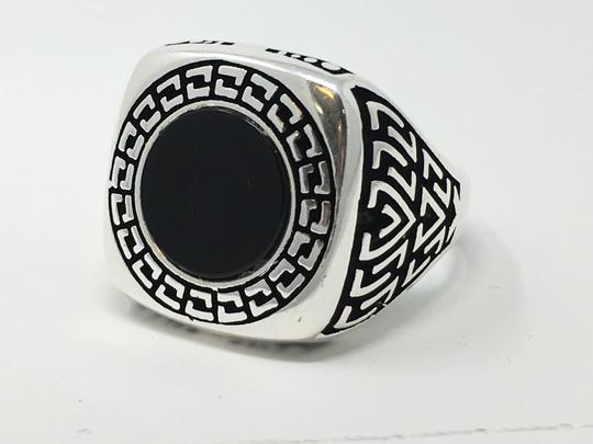 Other SILVER UNIQUE ONYX STONE RING Image 1