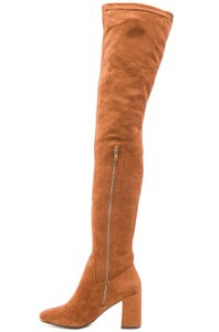 Jeffrey Campbell Brown Faux suede Over the Knee Boots